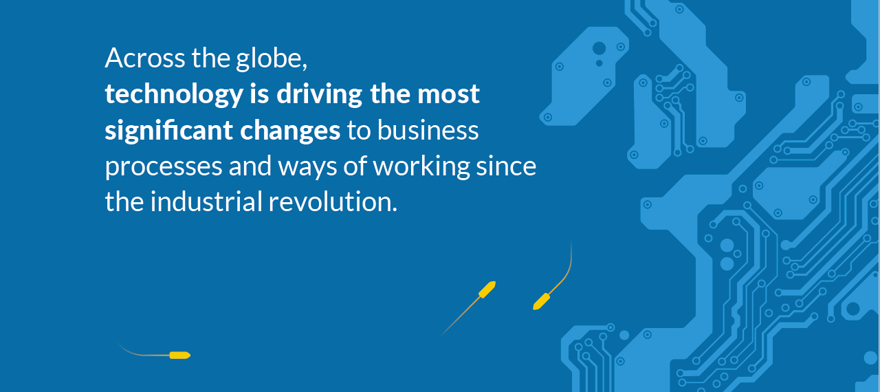 Technology is driving change