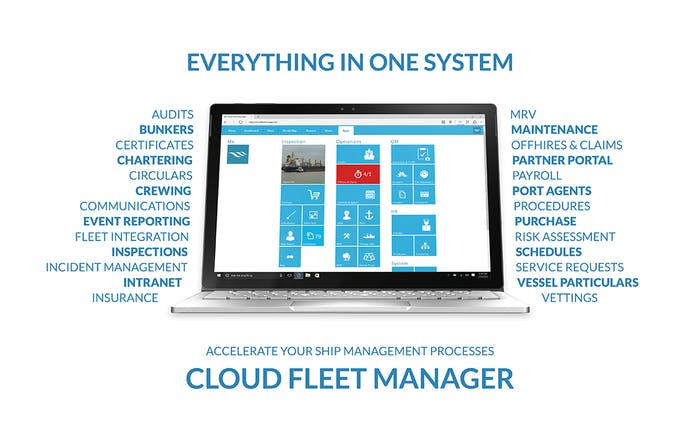 The all-in-one software solution for shipping companies